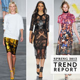 The Top Runway Trends from New York Fashion Week Spring 2013: Sporty, Sheer, Oversize, Monochrome
