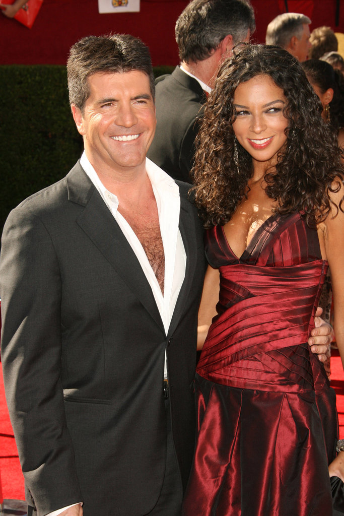 Simon Cowell let his chest hair fly freely at the 2006 celebration.