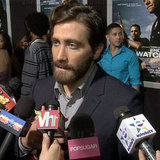 Jake Gyllenhaal at End of Watch Premiere (Video)