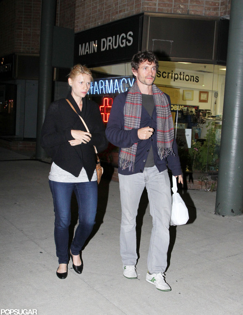 Claire Danes and her husband grabbed dinner in Toronto.