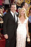 Mad Men's Jon Hamm arrived with date Jennifer Westfeldt in 2008.