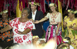 Kate Middleton and Prince William had fun dancing together in Tuvalu.