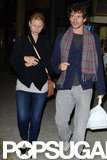 Claire Danes and Hugh Dancy Grab Dinner For Three in Toronto