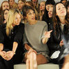 Kate Moss at Mulberry Show in London