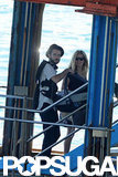 Tom Sturridge and Sienna Miller were accompanied by baby Marlowe on their getaway to Positano.