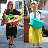 Jessica Alba and Honor Get in the Giving-Back Spirit