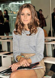 Olivia Palermo was at Matthew Williamson.