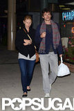 Claire Danes and her husband picked up food in Canada.