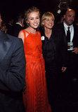 Portia de Rossi accompanied Ellen DeGeneres to the show in 2005.