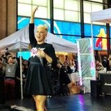 Pink put on a live performance for fans in NYC. Source: Instagram user todayshow