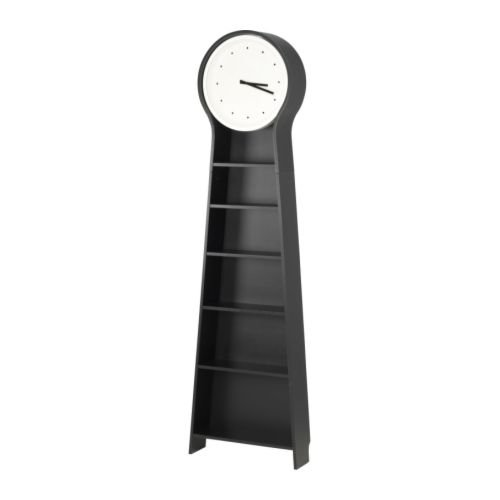 A modern spin on the traditional grandfather style, this Pendel Floor Clock ($199) will help you to stay on time and organized, thanks to the clever, built-in shelves.