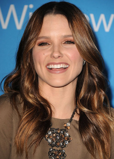 Sophia Bush had a laugh at CBS's Fall premiere party in LA.