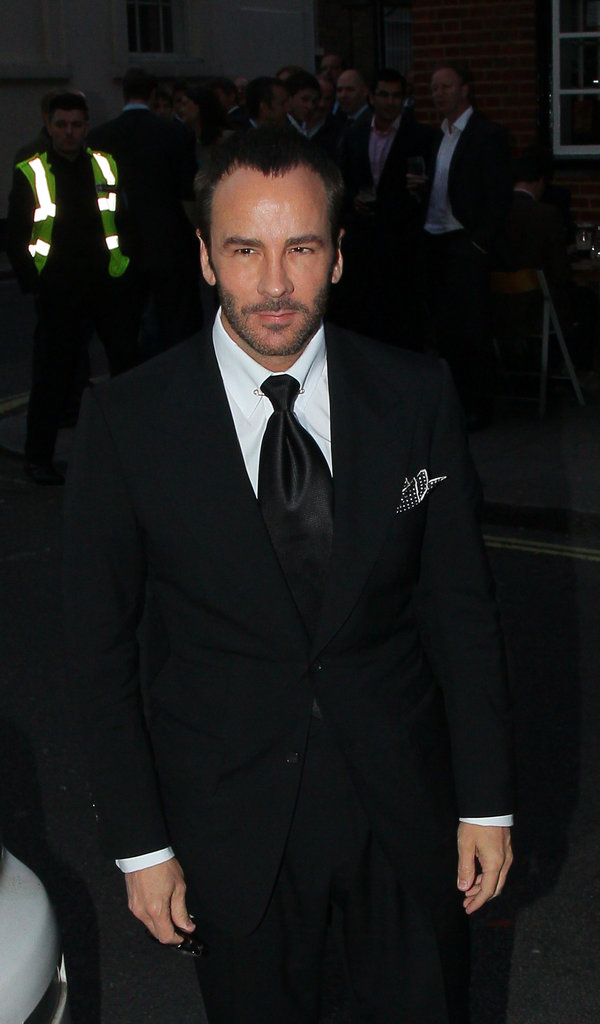 Tom Ford attended a dinner party in London for President Obama.