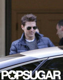 Tom Cruise stepped out in London.
