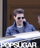 Tom Cruise Keeps to His Shooting Schedule in London