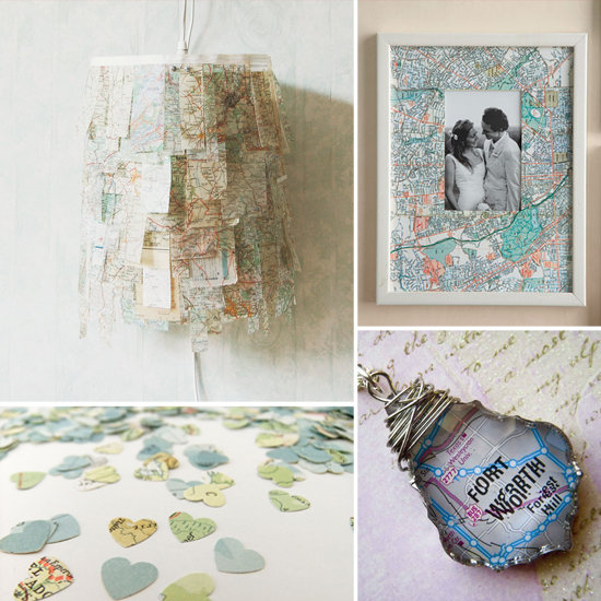 14 Creative Ways to Reuse Old Maps