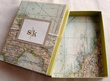 Map Gift Box or Wrap