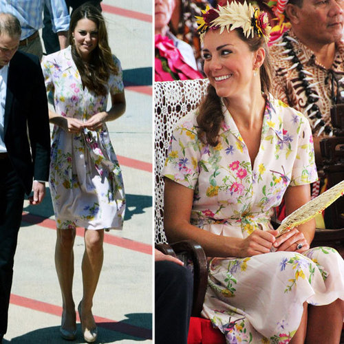 Kate Middleton Dresses on Diamond Jubilee Tour (Pictures)