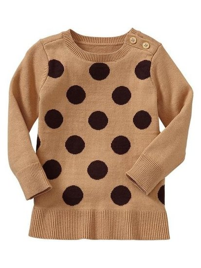 Gap Dot Tunic Sweater ($35)