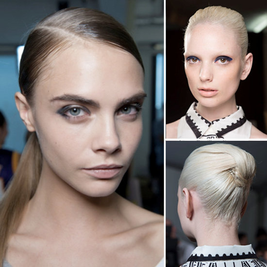 Copy the Slick Updos Straight From LFW's Catwalks