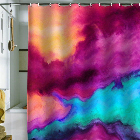 DENY Designs Jacqueline Maldonado &#039;The Tide&#039; Shower Curtain