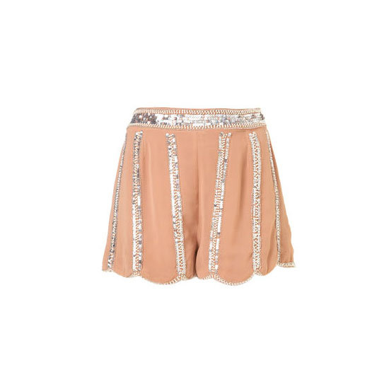 Let your bottom half do all the talking, these shorts make a good alternative to the usual going out outfit. — Laura, www.shopstyle.com.au country manager  Shorts, approx $93, Topshop