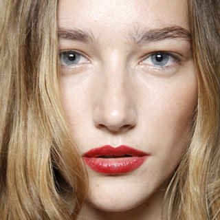 Photos of the Hair and Makeup Look at Burberry Prorsum Spring 2013 London Fashion Week