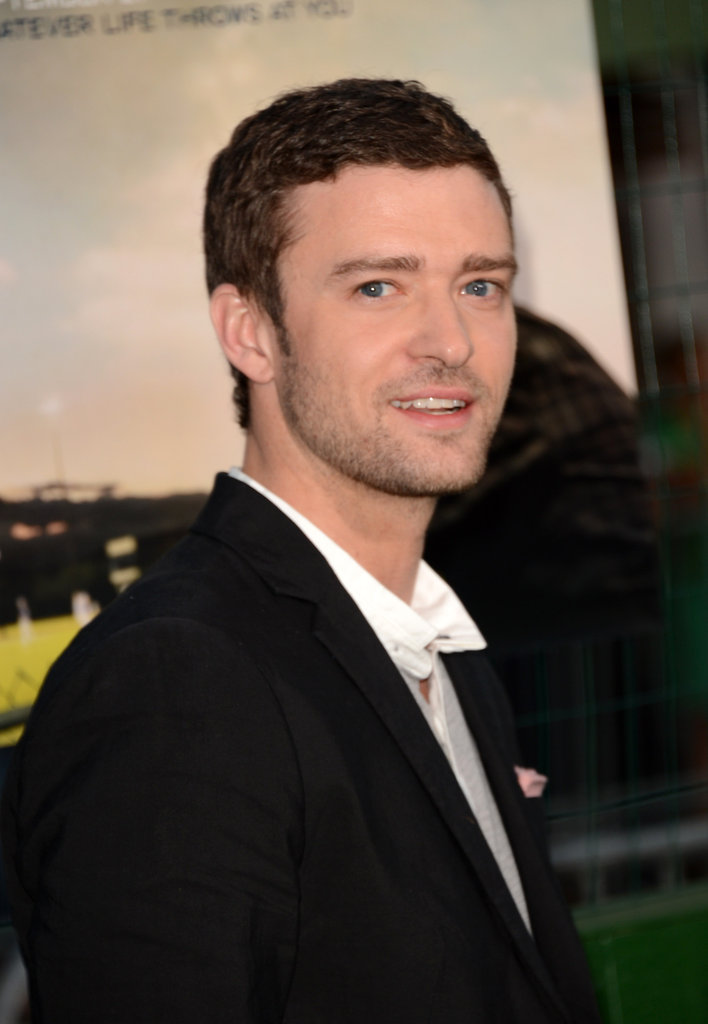 Justin Timberlake arrived at the LA premiere of Trouble With the Curve.