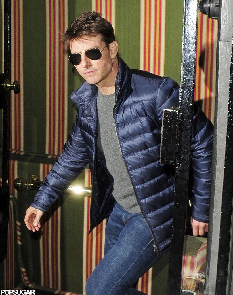Tom Cruise Hits the Club in London With Benicio Del Toro