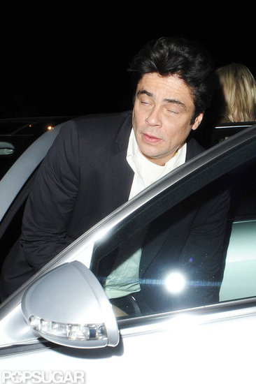 Benicio Del Toro hit the town.