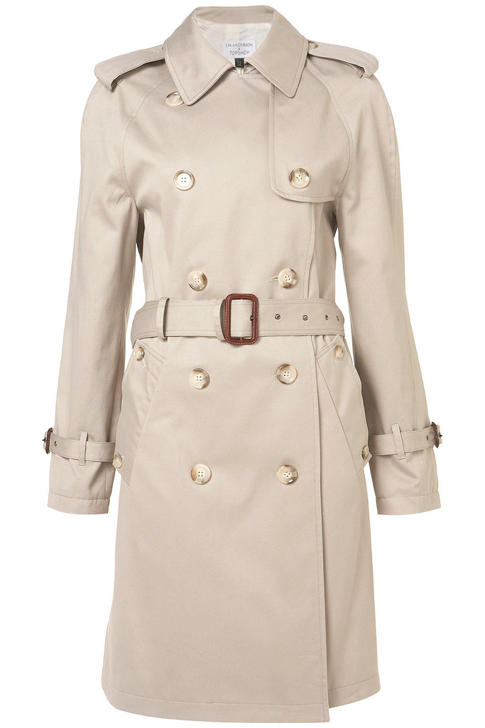 J.W. Anderson's limited-edition trench for Topshop is the perfect Fall staple.  J.W. Anderson X Topshop Trench ($200)