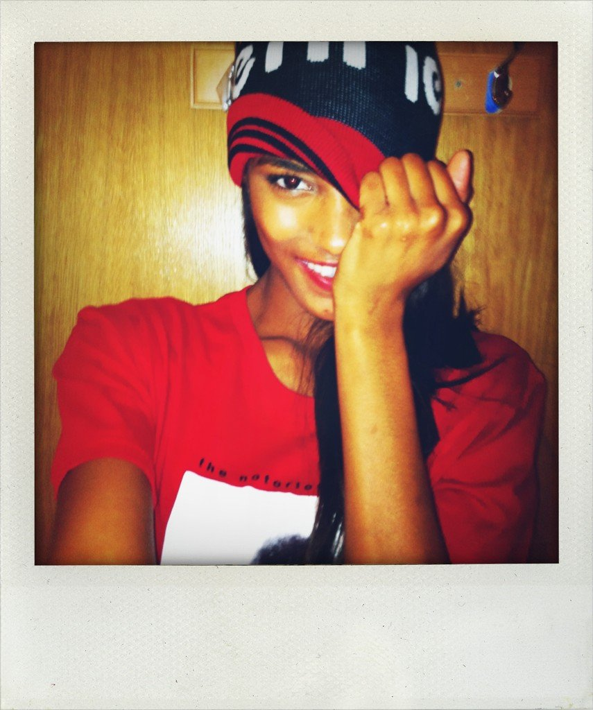 Jourdan Dunn posed for the camera. Source: Twitter user missjourdandunn