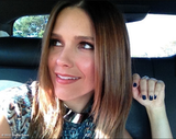 Sophia Bush went for a ride. Source: Sophia Bush on WhoSay