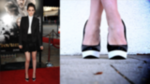 Get Kristen Stewart's Black and White Pumps