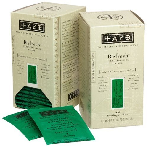 Tazo Refresh Peppermint Tea ($12)