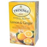 Twinings Herbal Revive Lemon & Chinese Ginger Tea ($7)