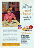 """Fall brings fried chicken"" . . . and sad, lonely dinners."