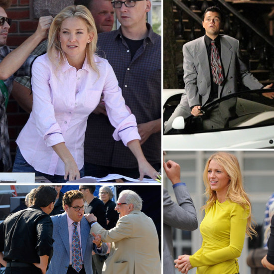 Kate Hudson, Leonardo DiCaprio, Blake Lively, and More Stars on Set
