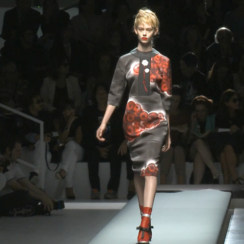 Video: Prada Runway At Milan Fashion Week