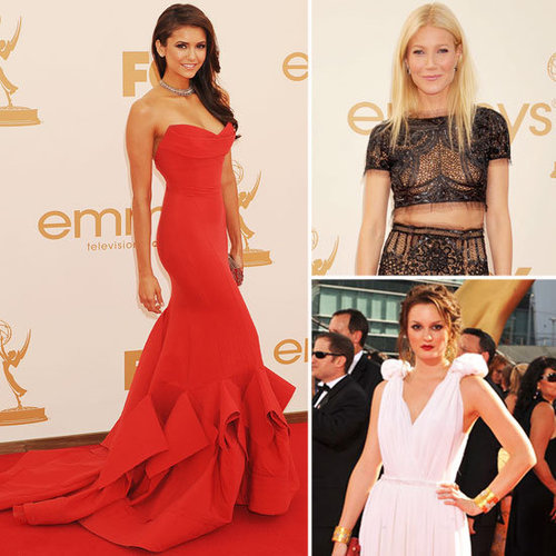 Pictures Of The Best Emmys Dresses Of All Time: Nina Dobrev, Gwyneth Paltrow, Leighton Meester