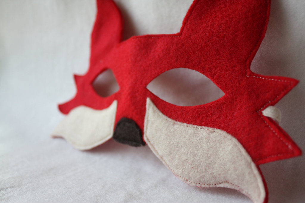 Red Fox Mask ($14)
