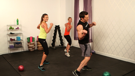 Get Your Sweat On With a 10-Minute Workout From P90X's Tony Horton!
