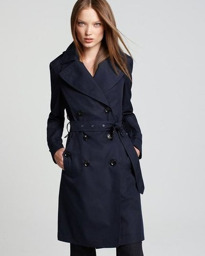 Burberry Brit Long Double Breasted Trench Coat - Coats & Jackets - Apparel - Women's - Bloomingdale's