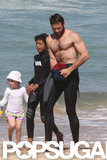 Hugh Jackman Puts on a Shirtless Show Down Under