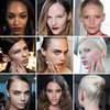 London Fashion Week Hair, Nails and Makeup Spring 2013