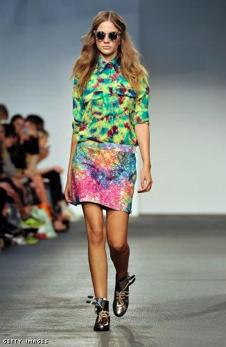 House of Holland London Fashion Week fashion show catwalk report Spring Summer 2013