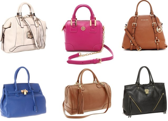 Fall handbag guide 2012: structured satchels