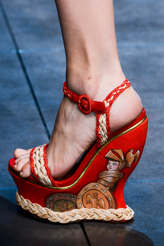Dolce and Gabbana Spring 2013