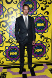 Alexander Skarsgard celebrated the Emmys at the HBO reception.