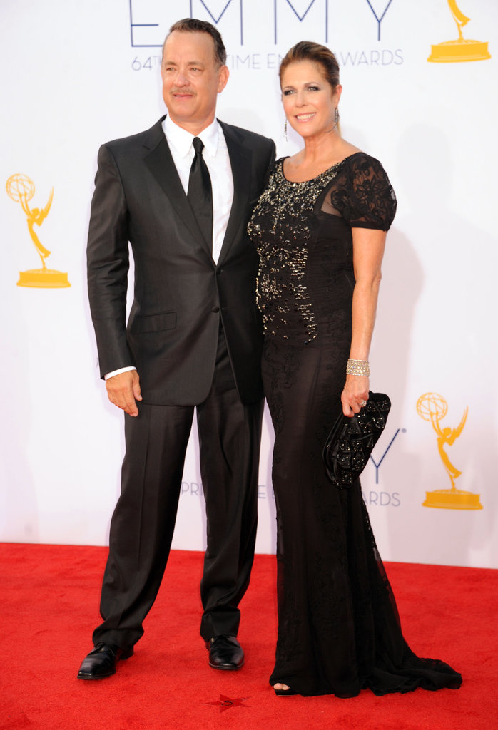 Tom Hanks and Rita Wilson made a gorgeous pair at the Emmys.